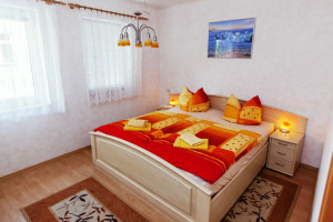 Doppelbett, Aufbettung ist möglich!