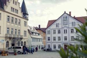 Markt in Stadt Wehlen