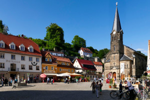Marktplatz Stadt Wehlen